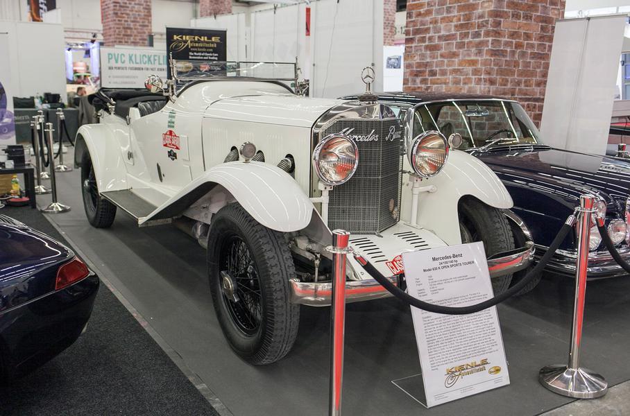 Старые и очень дорогие машины автосалона во Франкфурте