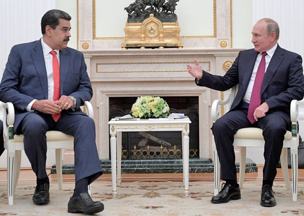 Путин: Россия поддерживает все легитимные органы власти Венесуэлы